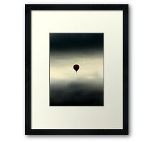 Which way down? Framed Print