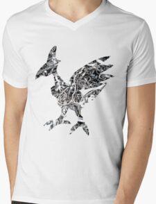 Skarmory used steel wing Mens V-Neck T-Shirt