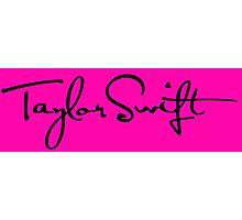 Taylor Swift logo Photographic Print