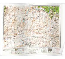 USGS Topo Map Washington State WA Ritzville 243473 1965 250000 Poster