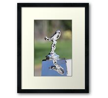 flying lady Framed Print