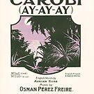 CAROLI AY-AY-AY (vintage illustration) by ART INSPIRED BY MUSIC