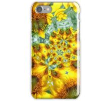 Sunflower Kaleidoscope iPhone Case/Skin