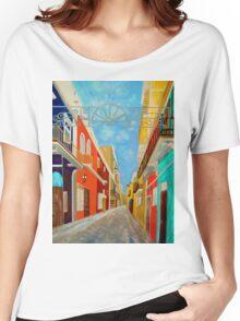Old San Juan Women's Relaxed Fit T-Shirt