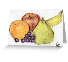 Still Life - Fruit Greeting Card