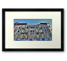 Building in ruin Framed Print