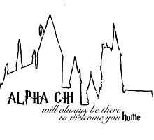 Alpha Chi Home Logo by cjfeisty