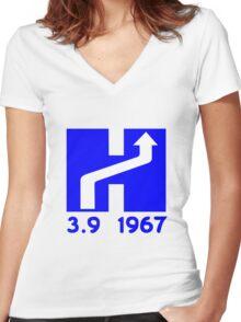 Dagen H Women's Fitted V-Neck T-Shirt