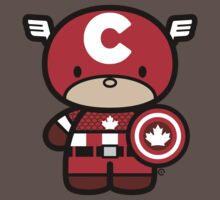 Chibi-Fi Captain Canada by Eozen