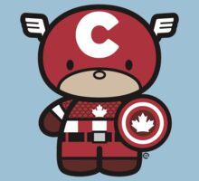 Chibi-Fi Captain Canada Kids Clothes