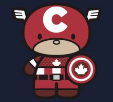Chibi-Fi Captain Canada Kids Clothes