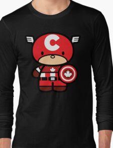 Chibi-Fi Captain Canada Long Sleeve T-Shirt