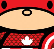 Chibi-Fi Captain Canada Sticker