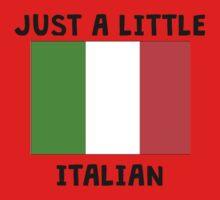 Just A Little Italian Kids Tee