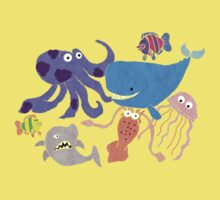 Underwater Creatures Kids Clothes