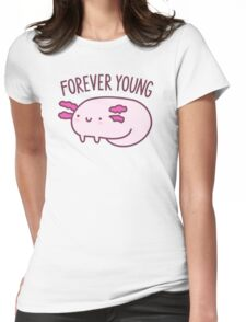 Adorable Axolotls Womens Fitted T-Shirt