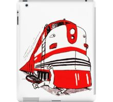 Watch for Trains iPad Case/Skin
