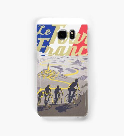 Le Tour de France retro poster Samsung Galaxy Case/Skin