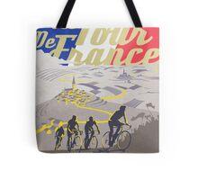 Le Tour de France retro poster Tote Bag