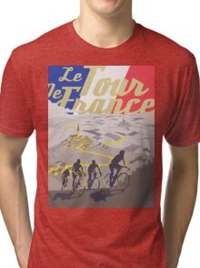 Le Tour de France retro poster Tri-blend T-Shirt