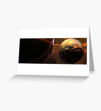 Spheroids #2 Greeting Card