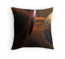 Spheroids #2 Throw Pillow