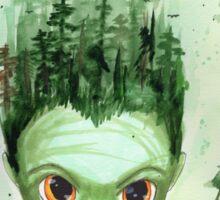 Gaia Illustration Sticker