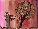 Tree Of Gold & Goddess by RobynLee