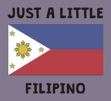 Just A Little Filipino Kids Tee
