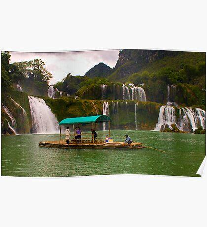 Ban Doc Waterfall, Vietnam Poster