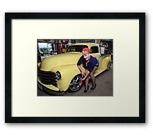Midnight Auto  Framed Print