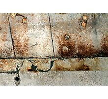 Life's stains and angles Photographic Print