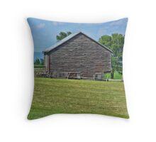 A Virginia Barn Throw Pillow