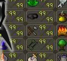 Runescape skill list all 99 Sticker