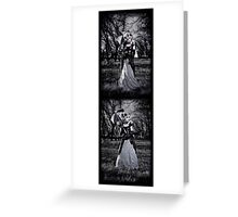 Dead Forest Set Greeting Card