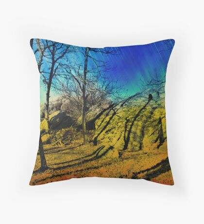 Once upon a time! Throw Pillow
