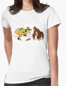 Boss vs Kong Womens Fitted T-Shirt