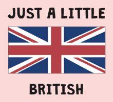 Just A Little British One Piece - Short Sleeve