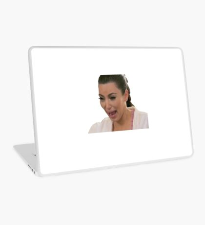 Kim Kardashian Crying Laptop Skin