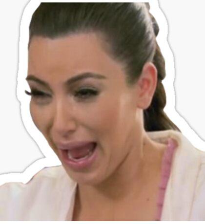 Kim Kardashian Crying Sticker