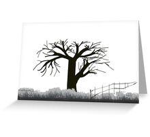 Tree in Seasons - 1 Greeting Card