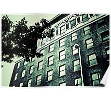 Windows - Downtown Cincinnati Poster