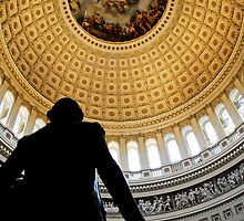 Beneath the US Capitol  Dome by boyetdamot