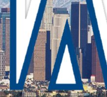 Los Angeles Dodgers Skyline Logo Sticker