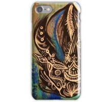 Black Flame iPhone Case/Skin