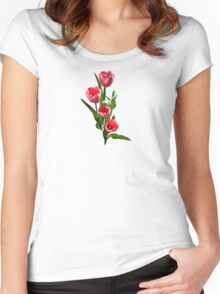 Tulip Family Women's Fitted Scoop T-Shirt