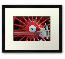 crank locomotive Framed Print
