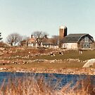 Old New England Farm by Barry Doherty