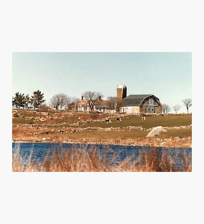 Old New England Farm Photographic Print