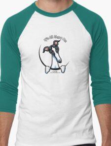 White & Black Greyhound IAAM T-Shirt